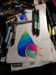 Colorful seashell [CM]