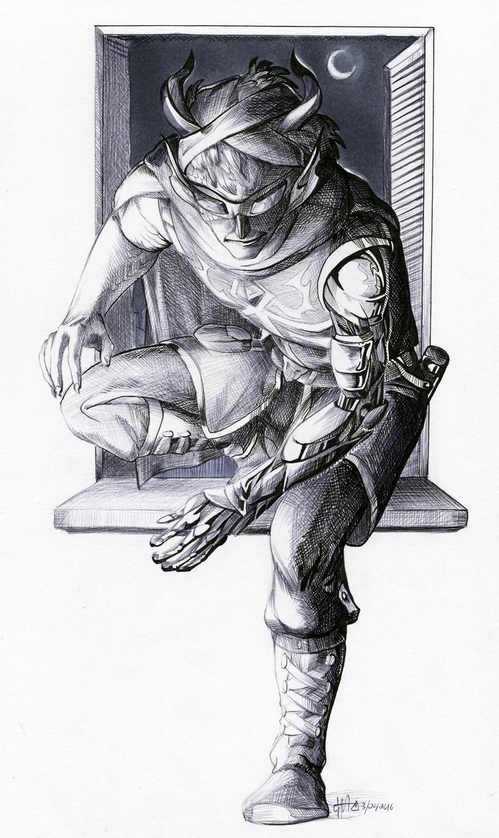 :Commission: Sneakthief
