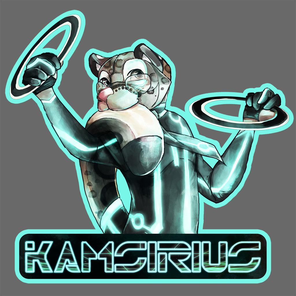 Most recent image: EF 22 Badge - KamSirius