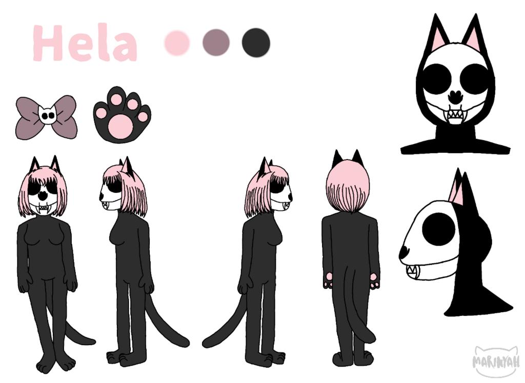 Most recent image: Hela - ref sheet