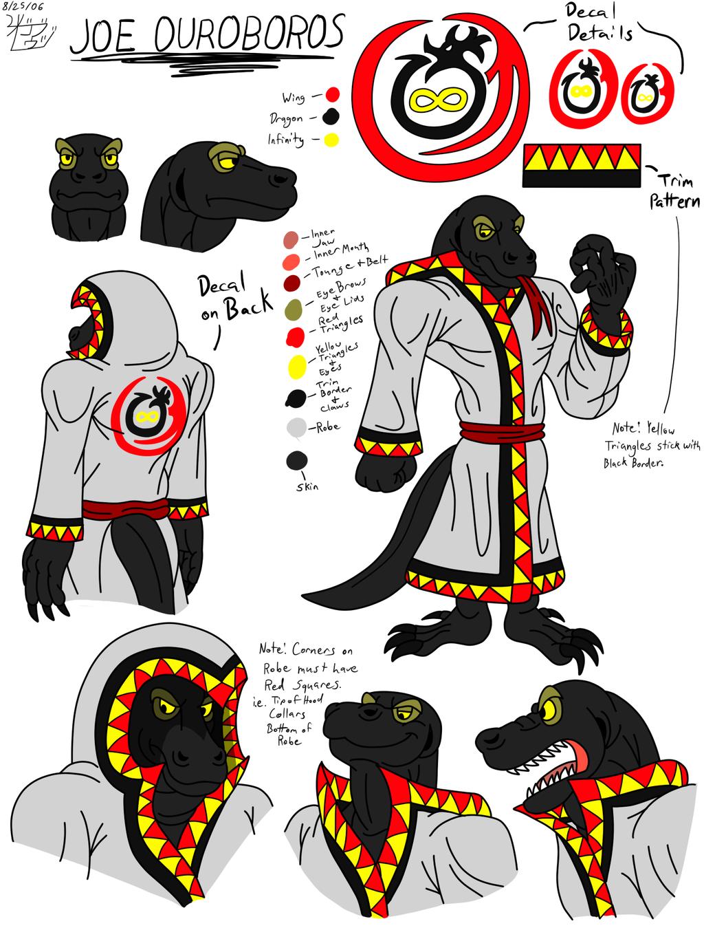Character Concept: Joe Ouroboros