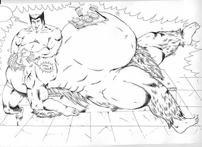 Beast feed Sasquatch