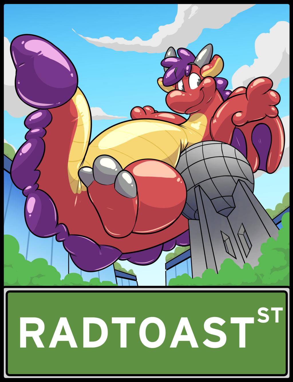 TFF Parade Balloon Toast