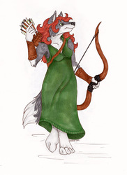 The Wolven Archer
