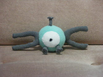 Magnemite Custom Plush
