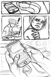 unfinished comic