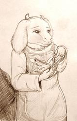 Goat Mom Sketch