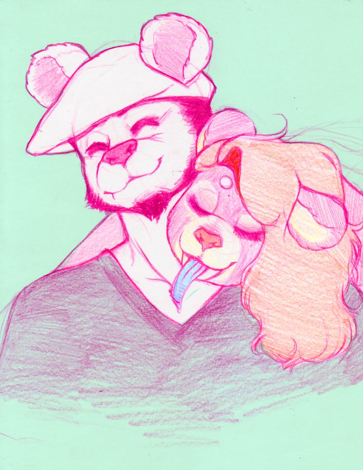 Bear love is best love <3