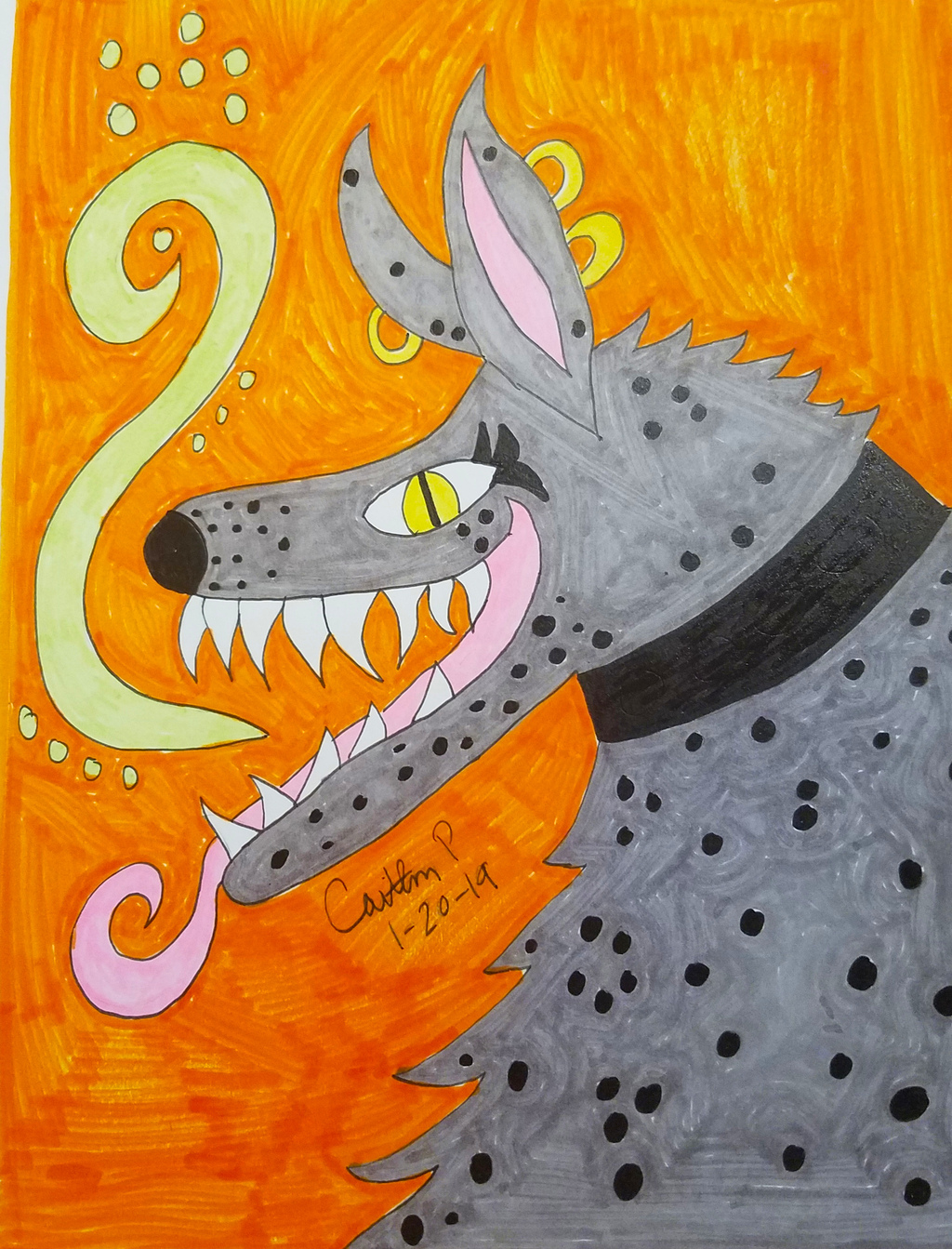 Most recent image: Posion Wolf