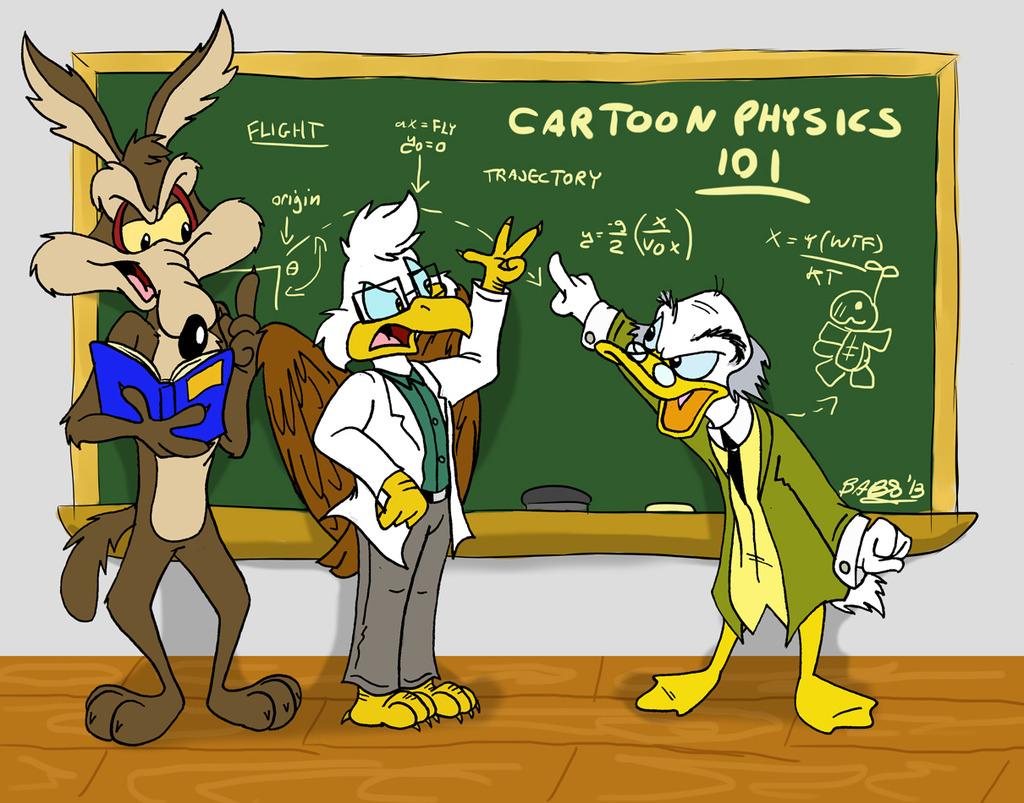 Cartoon Physics 101