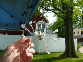 Large Crystal Spider
