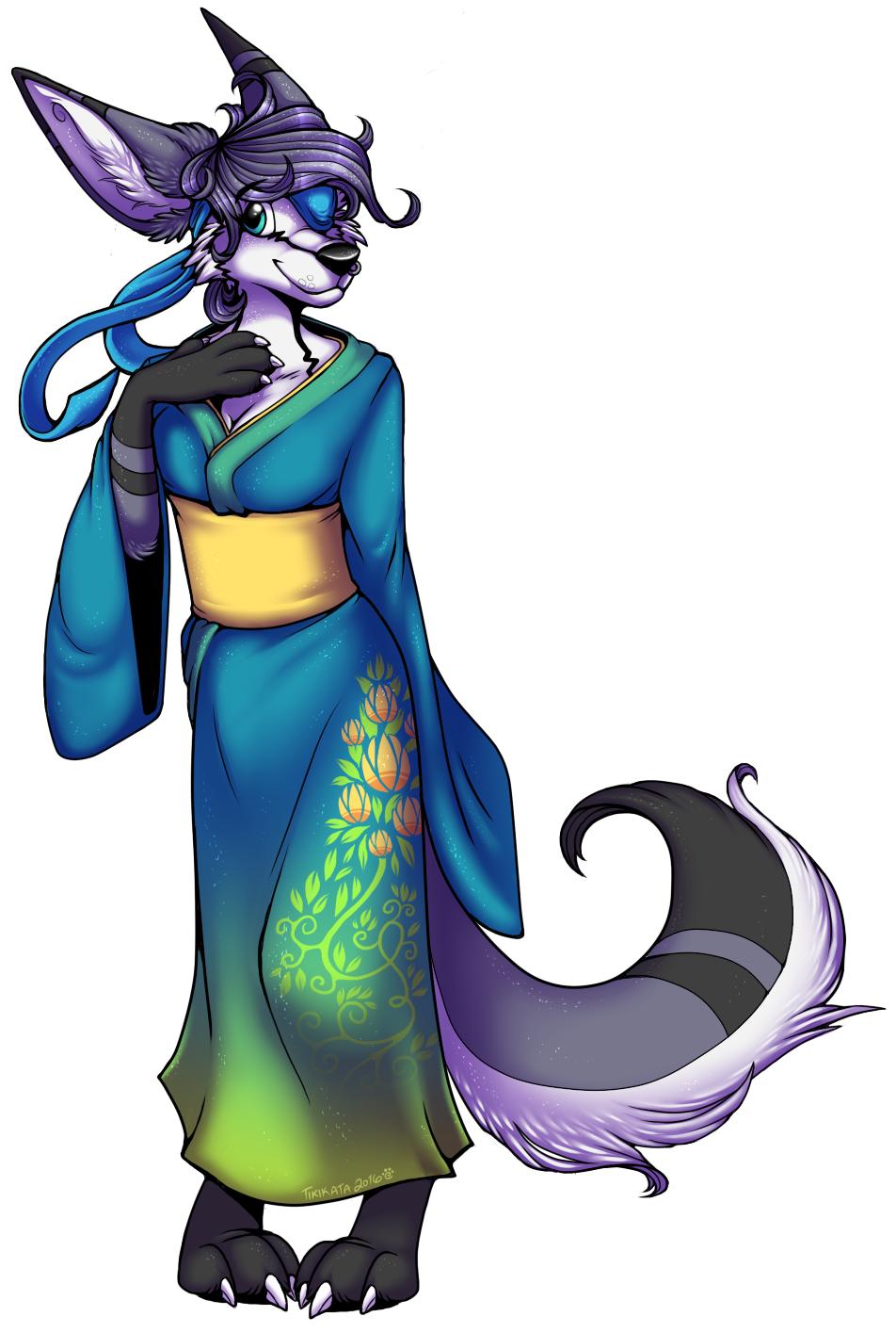Lolo's Kimono (Commission)