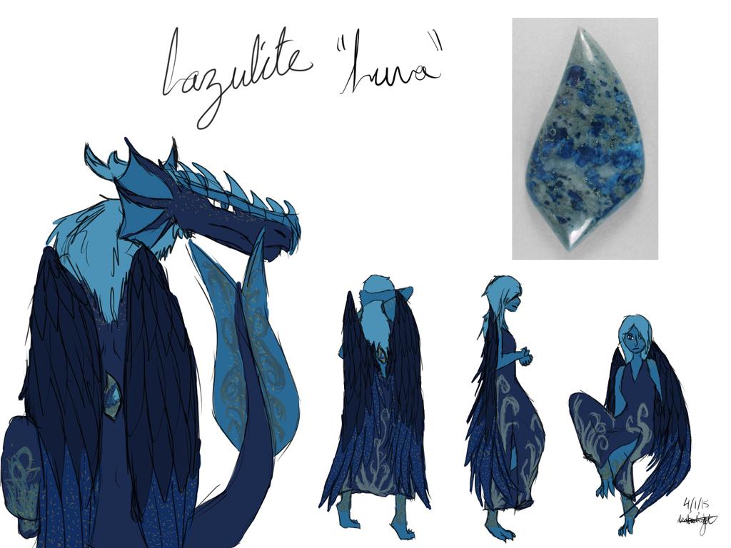 Most recent image: Lazulite