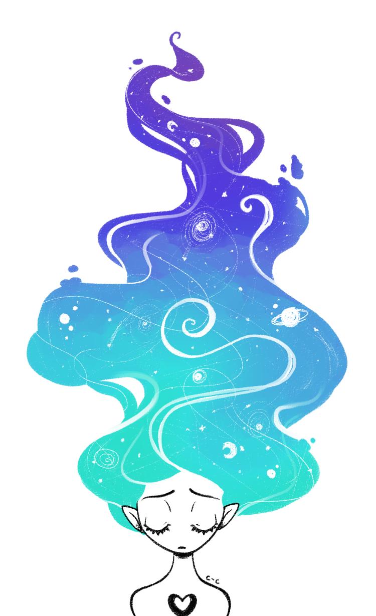 .Starry Sky.