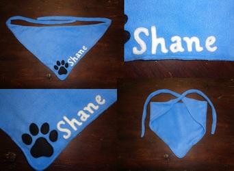 Fursuiter neck scarf for Shane