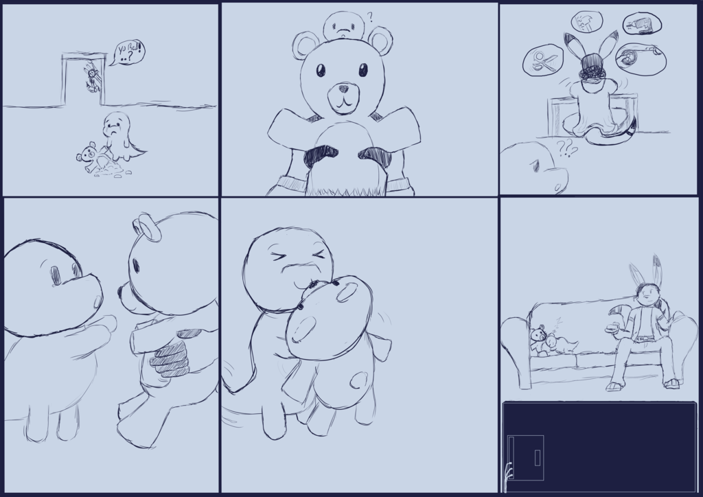 Most recent image: Mikey & Red - The Teddy Bear