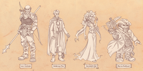 The Glass Cannon RPG Team