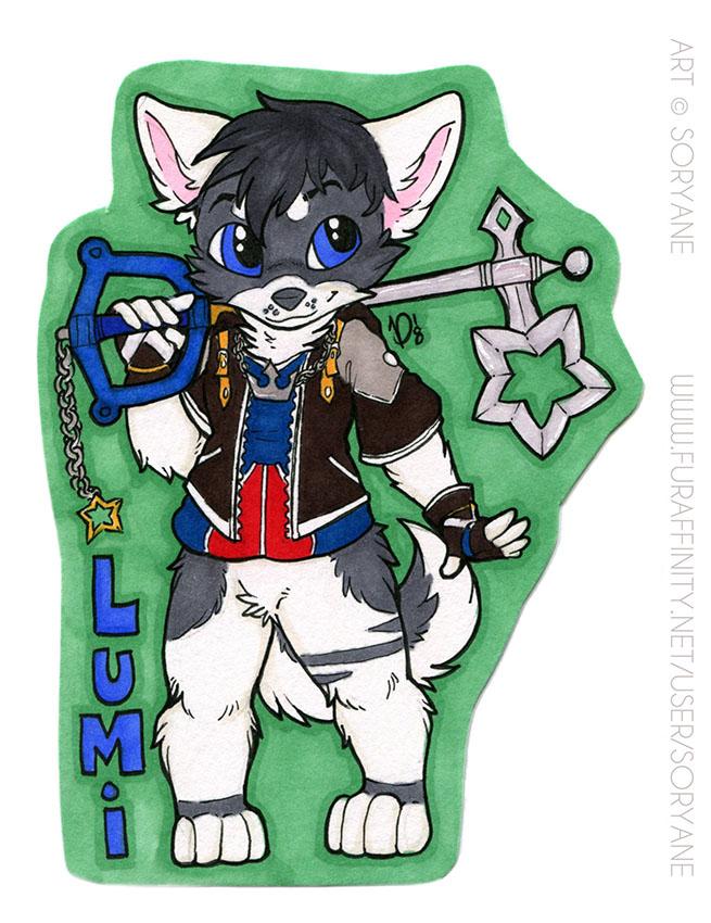 Lumi - Chibi Badge