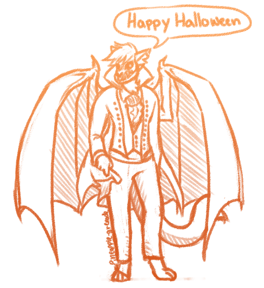Halloween sketch commission 1