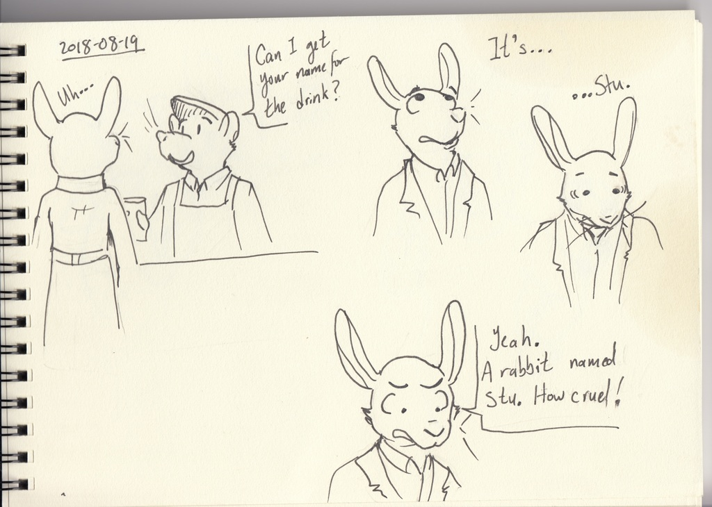 The Bunny Named Stu