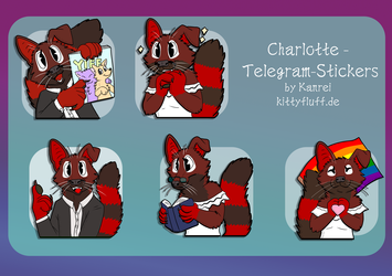 Charlotte Stickers