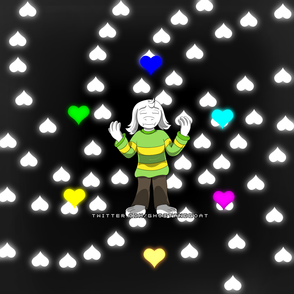 Asriel and the Barrier