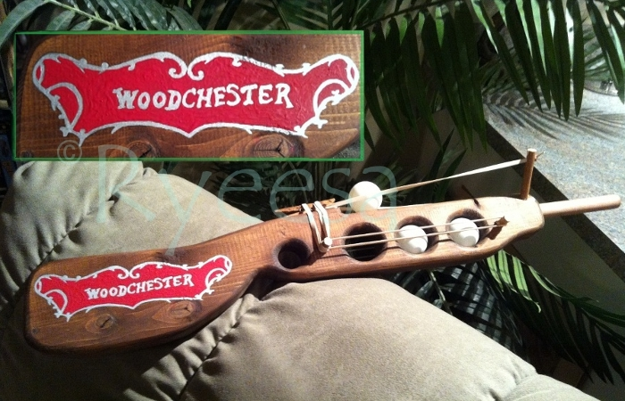 """Woodchester"" Pingpong rifle"