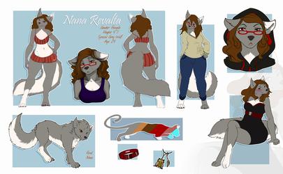 Nana Ref Sheet 2014 SFW