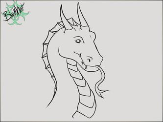 Inktober day 14 Dragon