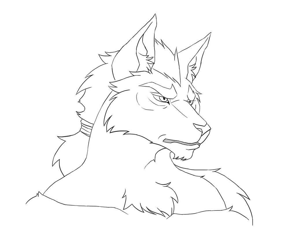 Canid Male sketch