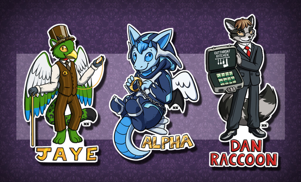 Chibi Badges #4