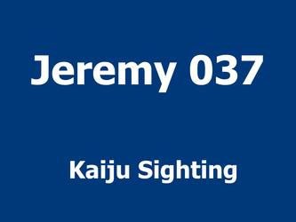 Kaiju Sighting