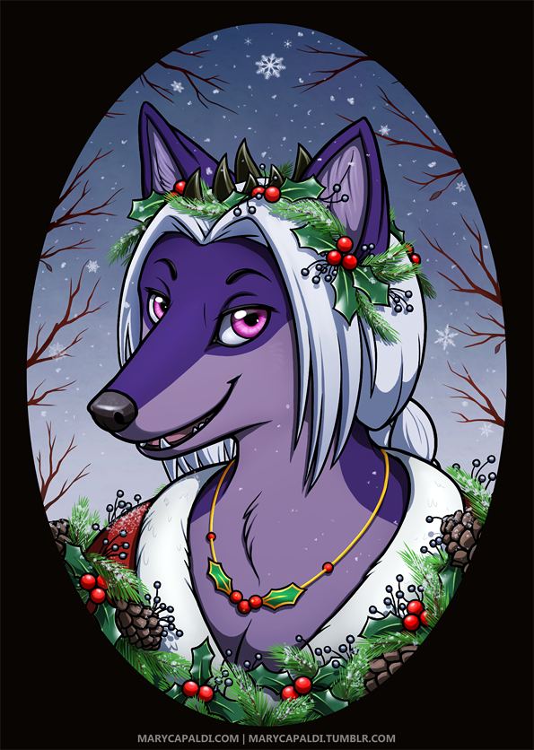 AbyssalWolf Holiday Bust