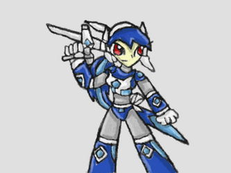 Blue Dialga Drawing