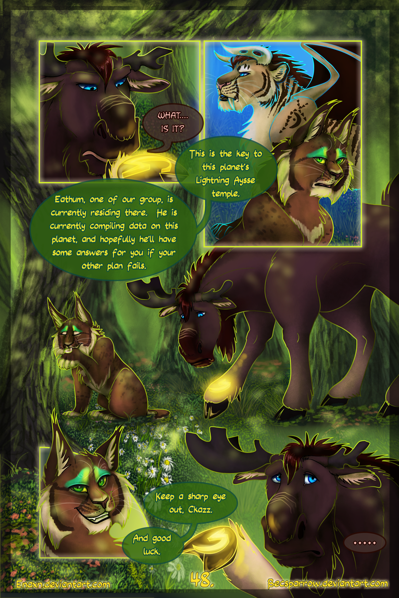 The Last Aysse: Page 48