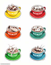 Bug Café: Latte Art