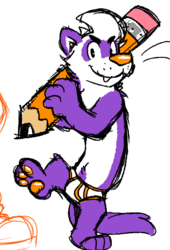 More ferret doodles
