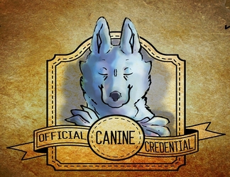 Canine Credential Badge