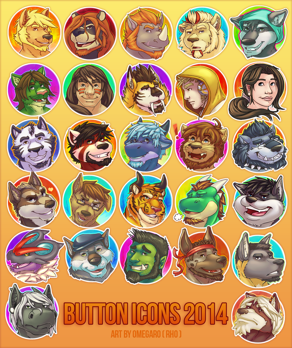 BUTTON ICONS 2014