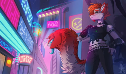 Braving the City Lights - By xNirox