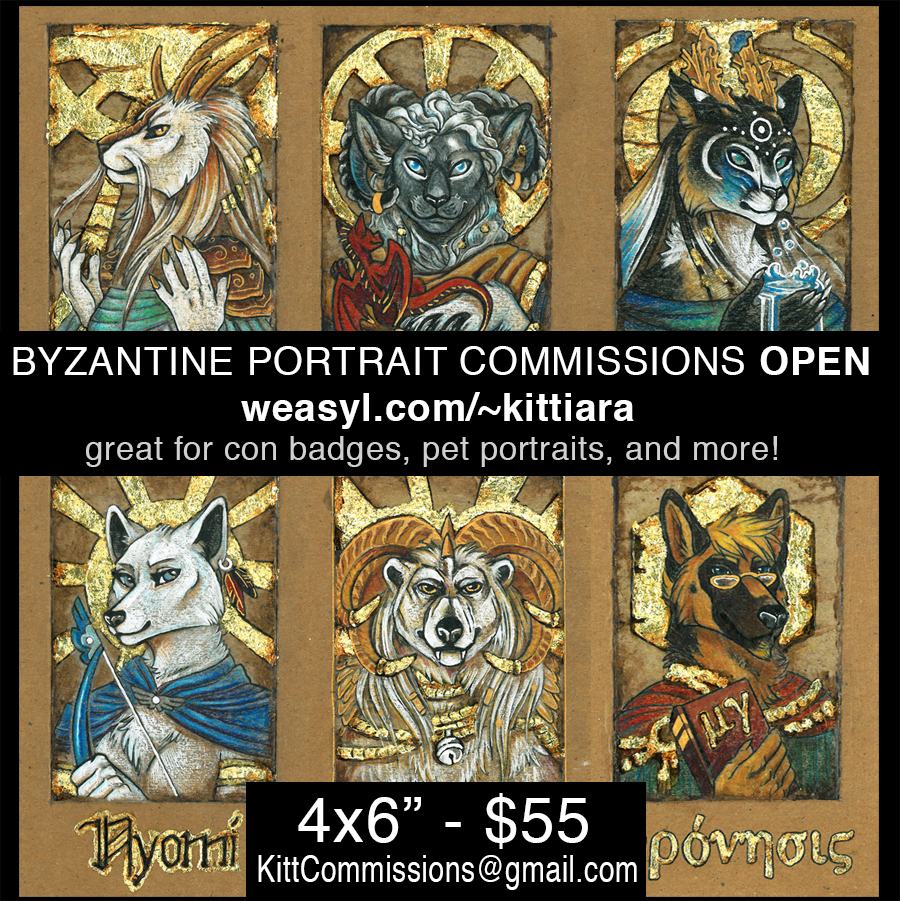 OPEN for BYZANTINE BADGE Commissions!