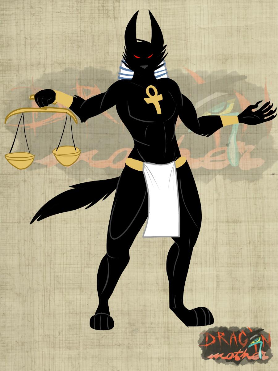 Dragon Mother Concept Art - Anubis