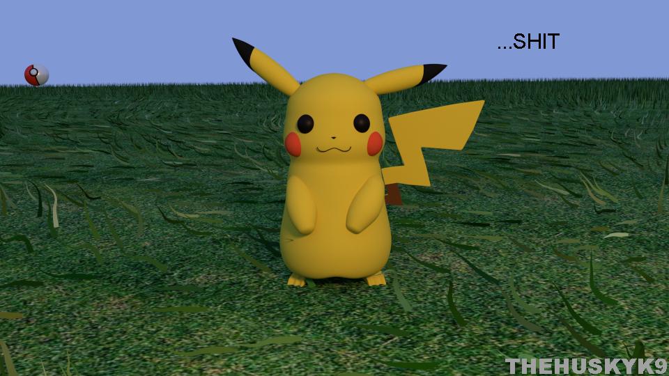 Most recent image: 3D Pokemon Go (second page)