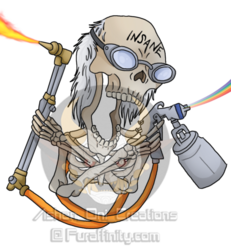 Commission - Phantom Brothers Kustoms Logo