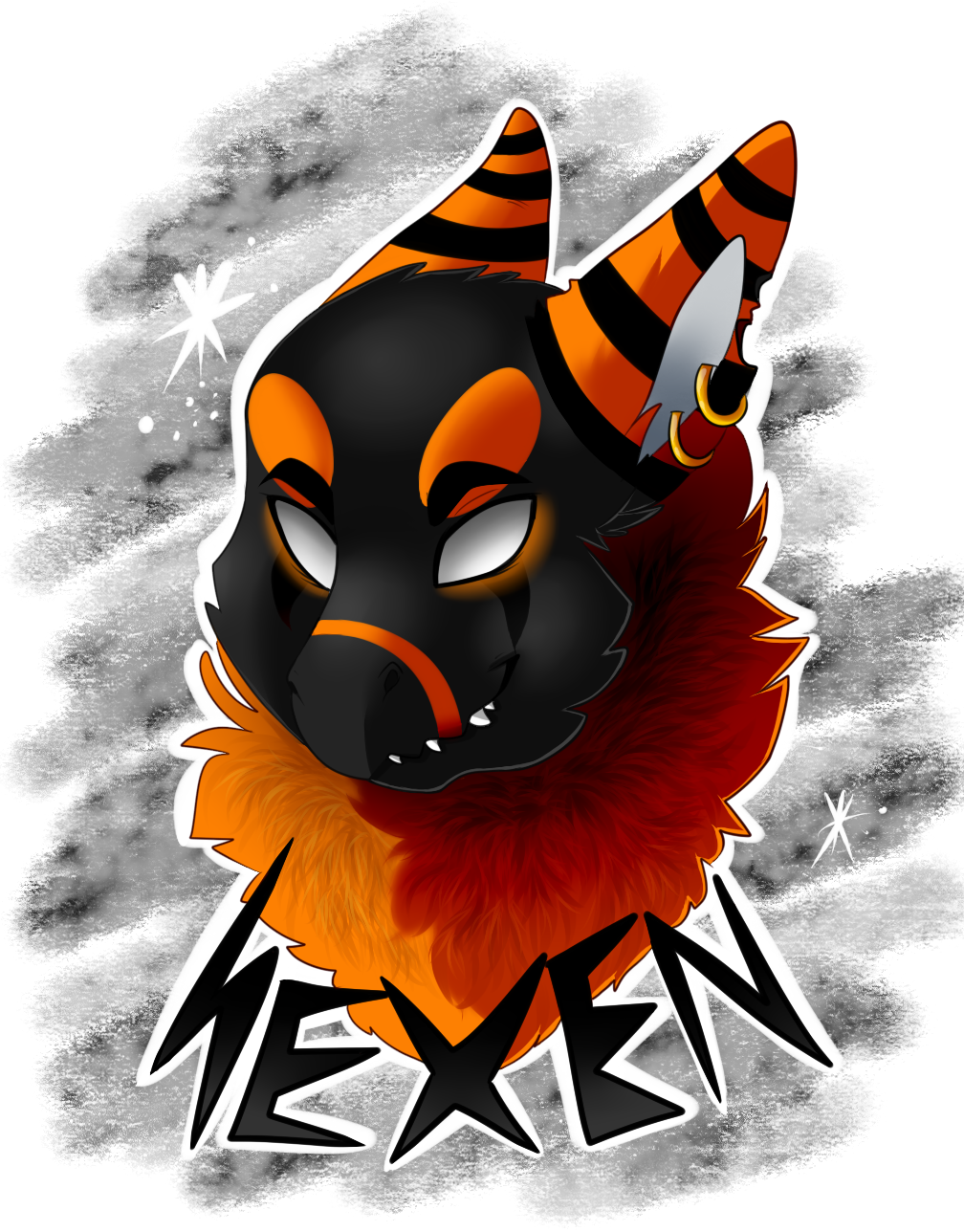 Hexen Headshot commission