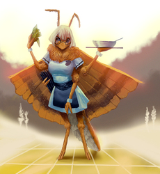 moth's waitress