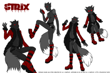 Strix Reference Sheet
