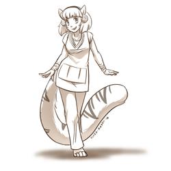 (Sketch Commission) - Leona
