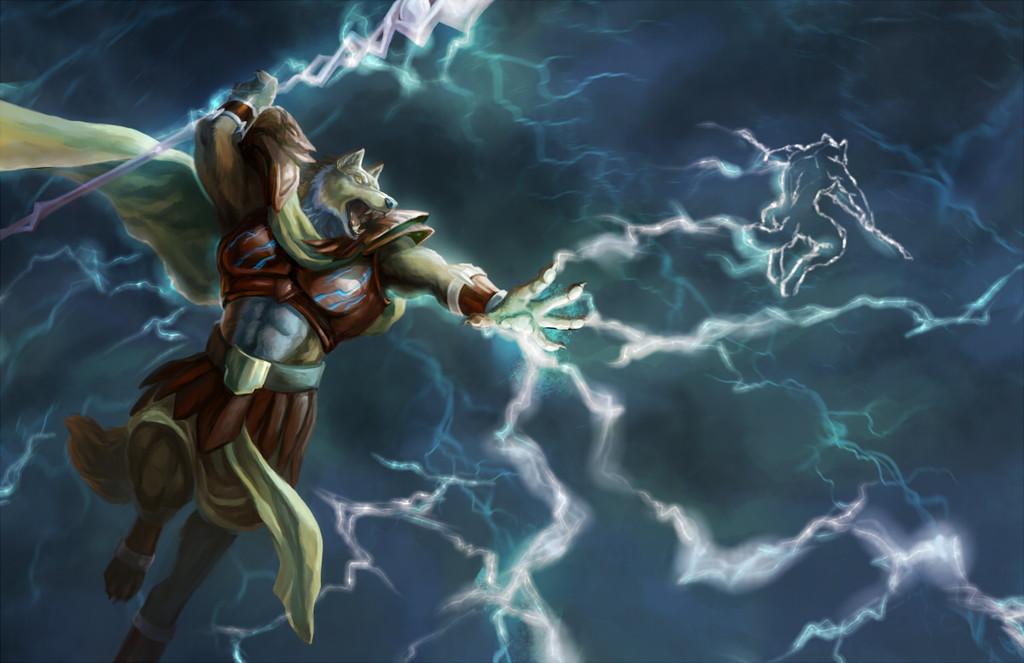 Jupiter the god of thunder