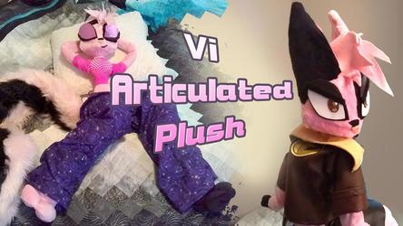 Vi Articulated Plush video